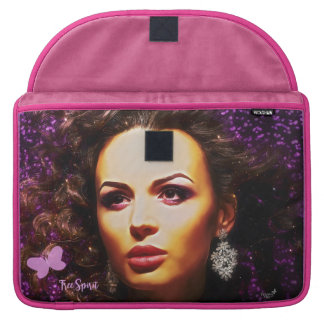 Fearless Lady Sleeve For MacBook Pro