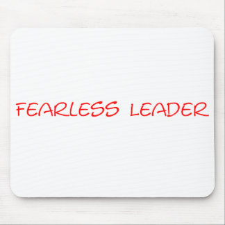 Fearless Leader Mousepad - Customized