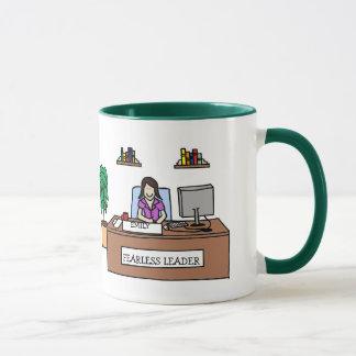 Fearless Leader - Personalized cartoon mug