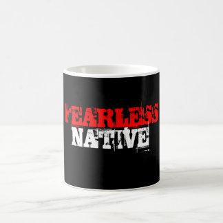 FEARLESS NATIVE COFFEE MUG