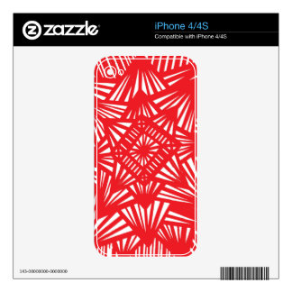 Fearless One-Hundred Percent Clean Upbeat Decal For The iPhone 4S