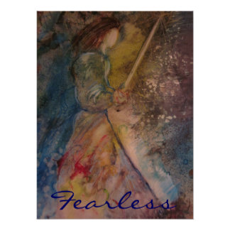 """""""Fearless"""" Poster"""