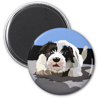 Fearless Protector 2 Inch Round Magnet