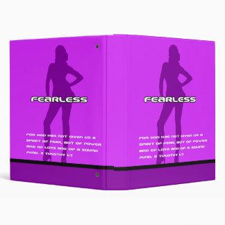 Fearless Purple Binder