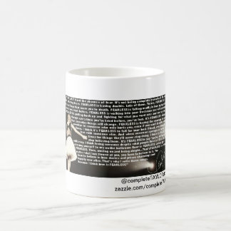Fearless quote mug