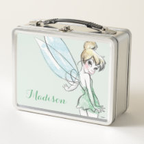 Fearless Tinker Bell Metal Lunch Box