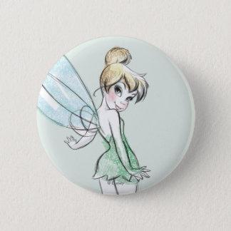 Fearless Tinker Bell Pinback Button