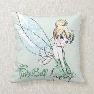 Fearless Tinker Bell Throw Pillow