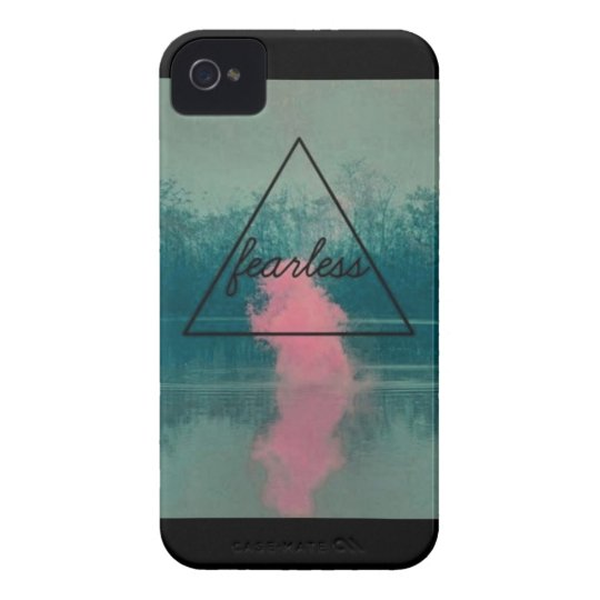 Fearless Triangle iPhone 4s case