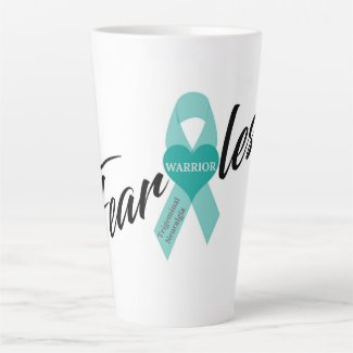 Fearless Warrior - Trigeminal Neuralgia Latte Mug