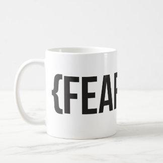 Fearless - You Choose Background Color Coffee Mug