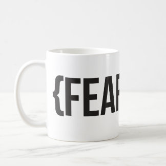 Fearless - You Choose Background Color Classic White Coffee Mug