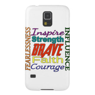 Fearlessness Courage Faith Etc...Word Picture Cases For Galaxy S5