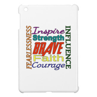 Fearlessness Courage Faith Etc...Word Picture Case For The iPad Mini