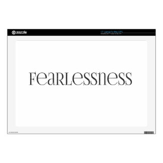 fearlessness Strong powerful Fearless Laptop Decals