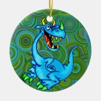 Fearsome Dragon Christmas Tree Ornament