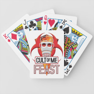FEAST Cult of Me Bicycle Poker Cards