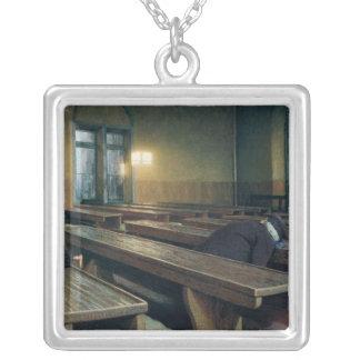 Feast Day at the Pio Albergo Trivulzio, 1892 Silver Plated Necklace