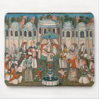 Feast for the Valide Sultana Mouse Pad