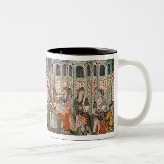 Feast for the Valide Sultana Two-Tone Coffee Mug