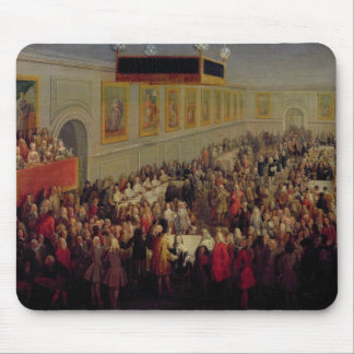 Feast given after the Coronation of Louis XV Mouse Pad