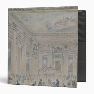Feast given by Madame du Barry  for Louis XV Vinyl Binder