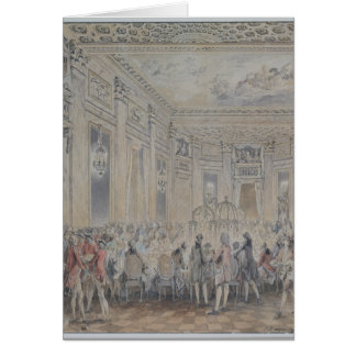 Feast given by Madame du Barry  for Louis XV Card