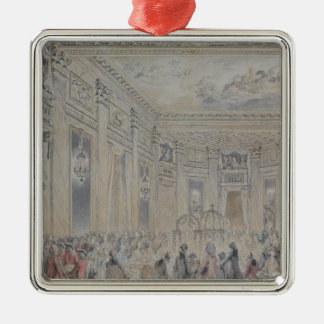 Feast given by Madame du Barry  for Louis XV Metal Ornament