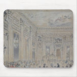 Feast given by Madame du Barry  for Louis XV Mouse Pad
