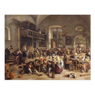 Feast in an Inn Postcard