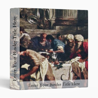 Feast In The House Of Simon By Subleyras Pierre Binder