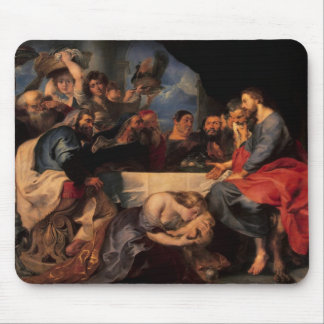 Feast in the house of Simon the Pharisee, c.1620 Mouse Pad