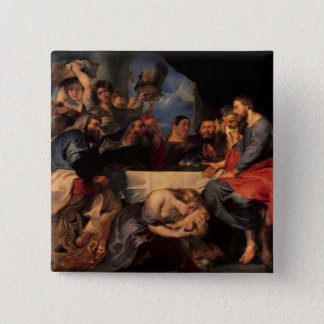 Feast in the house of Simon the Pharisee, c.1620 Pinback Button