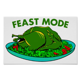 Feast Mode Poster