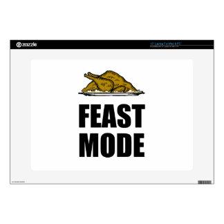 "Feast Mode Thanksgiving Turkey 15"" Laptop Decal"