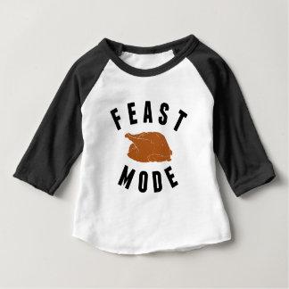 Feast Mode | Thanksgiving Turkey Baby Baby T-Shirt