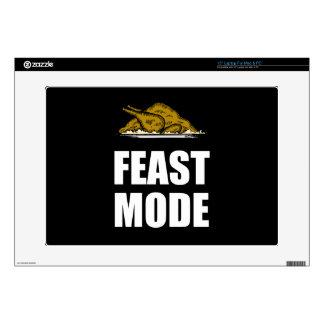 Feast Mode Thanksgiving Turkey Laptop Decals
