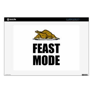 Feast Mode Thanksgiving Turkey Laptop Skin