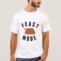 Feast Mode | Thanksgiving Turkey Men's T-Shirt