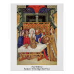 Feast Of Herod By Master Of The High Altar Ulmer Poster