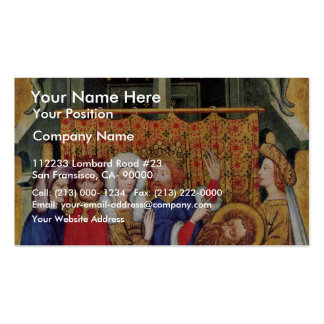 Feast Of Herod By Meister Des Ulmer Hochaltars (Be Double-Sided Standard Business Cards (Pack Of 100)
