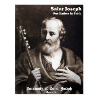 Feast of Saint Joseph Custom Postcard
