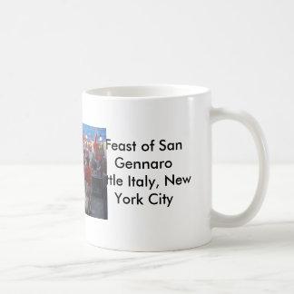 Feast of San Gennaro Little Italy, New York City Coffee Mug