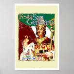 Feast of San Gennaro Poster
