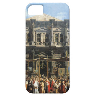 Feast of San Rocco by Canaletto iPhone SE/5/5s Case