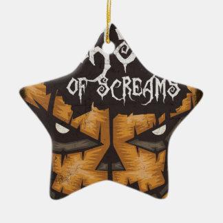 Feast Of Screams Ceramic Ornament