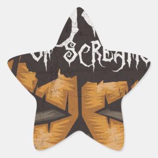 Feast Of Screams Star Sticker