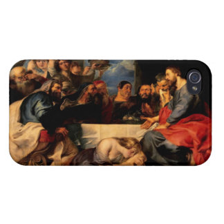 Feast of Simon & Mary Magdalene at Jesus' feet iPhone 4/4S Covers