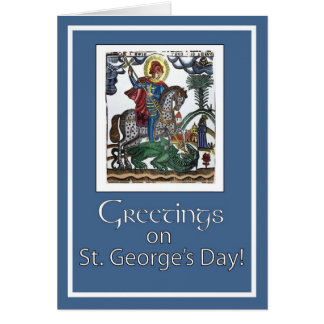 Feast of St. George, Blue Card