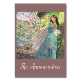 Feast of the Annunciation Catholic Prayer Card